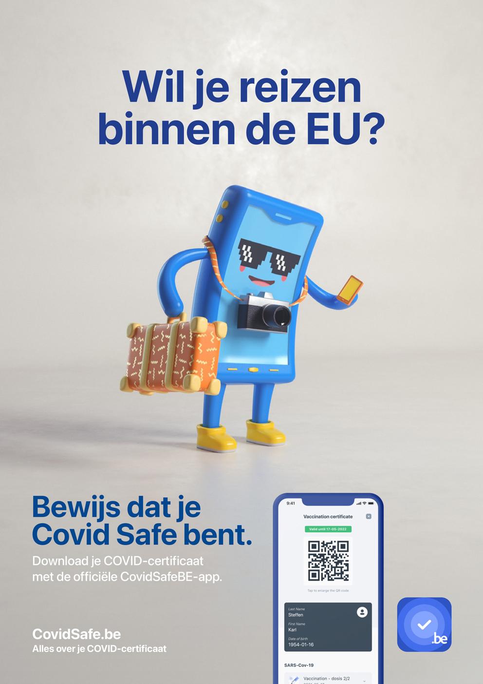 COVID Safe Affiche A4 NL1